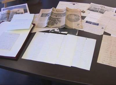 News video: Kennedy Letters Written During WWII to Be Auctioned